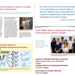 Dr. Reineke & lab members featured in UMN Chemistry Dec. Newsletter