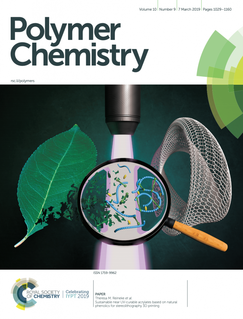 Polymer Chemistry Cover Art