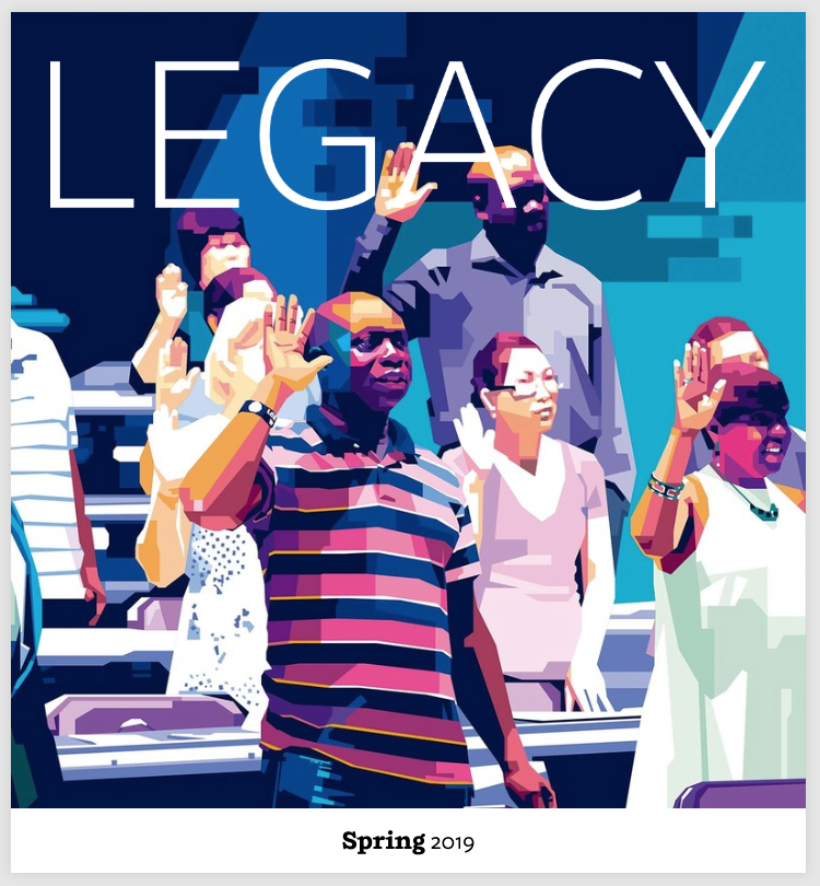Spring 2019 Legacy Magazine Cover